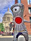 Olympic Mascot  Wenlock London 2012 - St Pauls Cathederal - HDR by Colin J Williams Photography