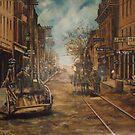 Water Street, Old Norfolk, Virginia circa 1887 by Jsimone