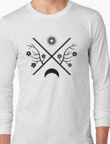 child of light - black symbol Long Sleeve T-Shirt