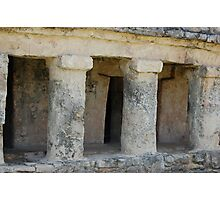 Tulum Ruins Photographic Print