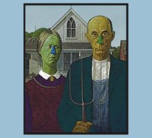 American Gothic Culture Cloth Zinc Collection by CultureCloth