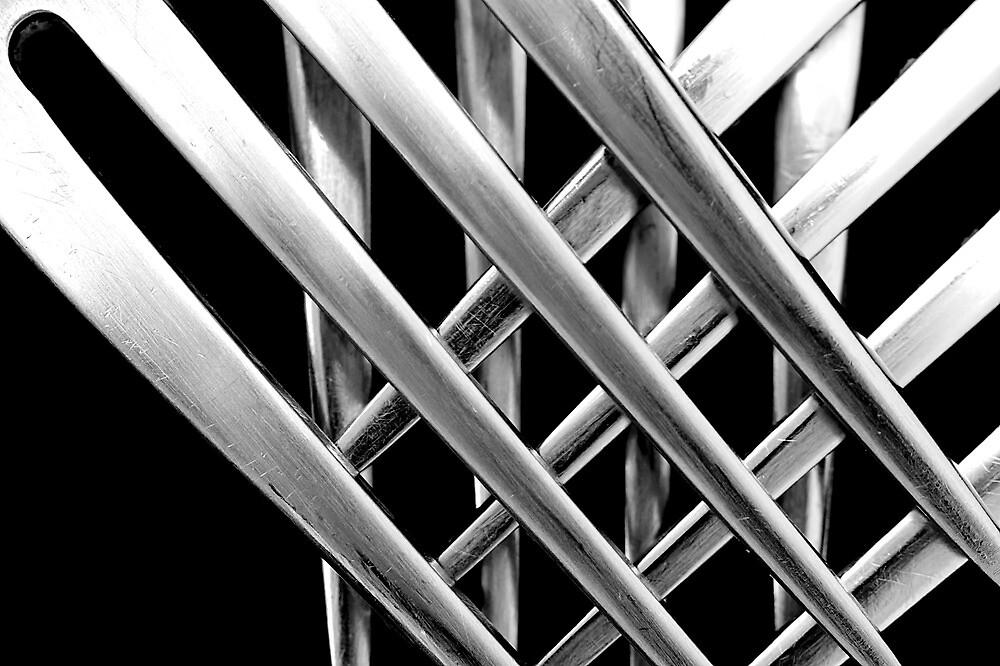 Crossed Forks by fernblacker