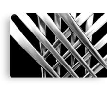 Crossed Forks Canvas Print