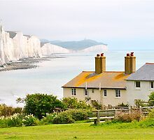 Coastguard Cottages - Cuckmere Haven - Seaford East Sussex by Julesuk1