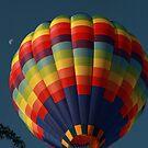 A Moon and A Hot Air Balloon ! by Renee Blake