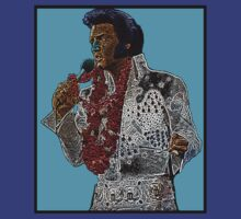 Elvis Presley Blue Hawaii Culture Cloth Zinc Collection by CultureCloth
