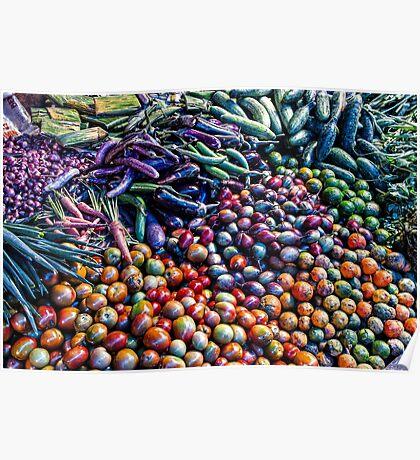 Vegetable medley Poster