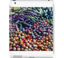 Vegetable medley iPad Case/Skin