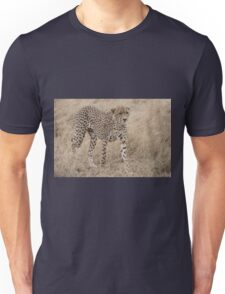 Cheetah in the Wild Unisex T-Shirt