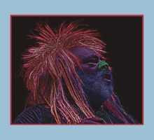 George Clinton Parliament Culture Cloth Zinc Collection by CultureCloth