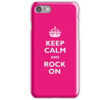 Keep Calm - Pink iPhone Case/Skin