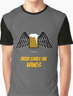Beer give me wings Graphic T-Shirt