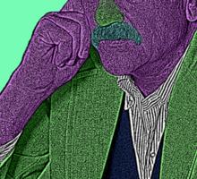 Kurt Vonnegut Culture Cloth Zinc Collection Sticker