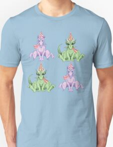 Party Hat Unicorns and Dragons Unisex T-Shirt
