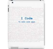 I am coder iPad Case/Skin