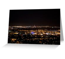 Portsmouth By Night  Greeting Card