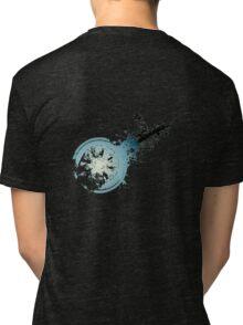 Advent Children - Ruined Midgar Logo Tri-blend T-Shirt