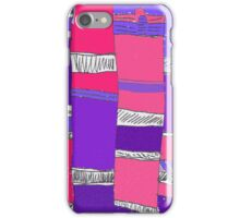 Purple Columns iPhone Case/Skin