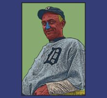 Ty Cobb Detroit Tigers Culture Cloth Zinc Collection T-Shirt