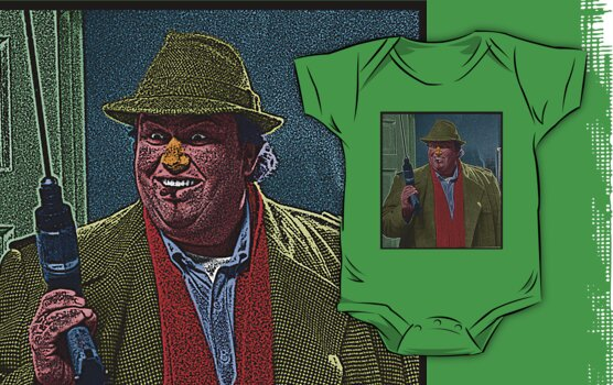 Uncle Buck John Candy Culture Cloth Zinc Collection by CultureCloth