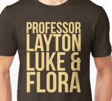 Professor Layton & Crew Unisex T-Shirt
