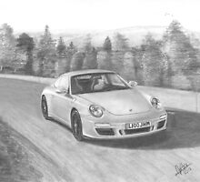 Porsche Carrera 911 GTS 4 by Chris-Cox