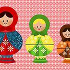 Matrioskas (Russian dolls) by alapapaju
