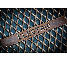 Electric Photographic Print