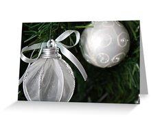 Whisper White Christmas Greeting Card