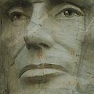 Abraham Lincoln on Mount Rushmore by Scott Hendricks