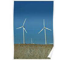 wind mills of california Poster
