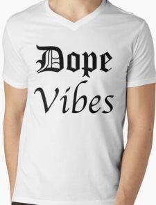 DOPE VIBES Mens V-Neck T-Shirt
