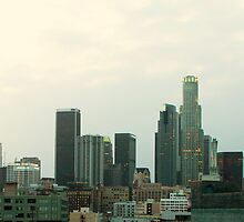 Panaorama of Downtown LA by ulises91