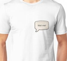 "Hearthstone Paladin ""Well met!""  Unisex T-Shirt"