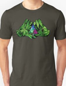The Weed Galaxy Hands T-Shirt