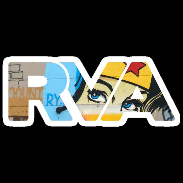 "RVA - flood wall ""Wonder Women"" by Lee Lacy"