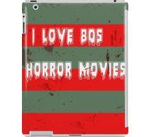 I love 80s horror movies iPad Case/Skin