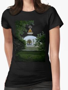 Forest Temple Womens Fitted T-Shirt