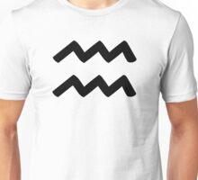 Aquarius - Waterbearer - Astrology Sign Unisex T-Shirt