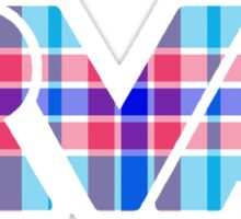 RVA - Plaid Sticker
