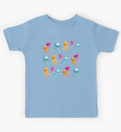 JellyFish, tan Kids Tee