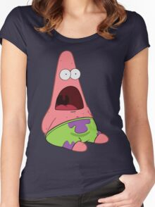 Surprised Patrick Women's Fitted Scoop T-Shirt