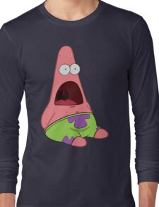 Surprised Patrick Long Sleeve T-Shirt