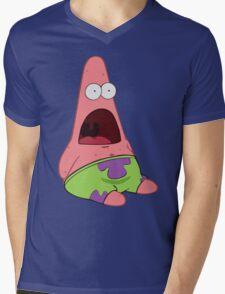 Surprised Patrick Mens V-Neck T-Shirt