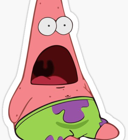 Surprised Patrick Sticker