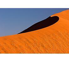 Sand Sea at Dune 45 - dawn Photographic Print