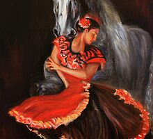 Dancing with horse Vers2 by Gerard Mignot