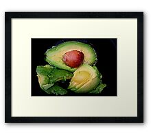 Creamy Avacado Framed Print