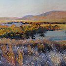 Colours of Evening - Dysart by Lynda Robinson