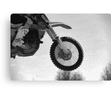 Motocross Dirt-Bike Championship Race Canvas Print